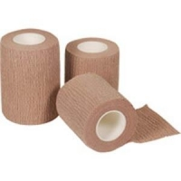 Co-Wrap Cohesive Bandage Tan 10cm x 4.5m, each
