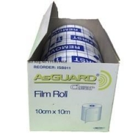 ASGUARD CLEAR FILM ROLL 10CMx10M, EACH