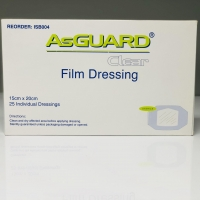 ASGUARD CLEAR+ FILM ISLAND 15CMx20CM, BOX 25