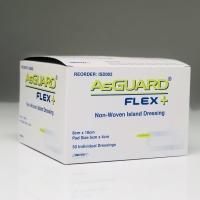 AsGUARD Flex+ N-Woven Island Dressing 8cm x 10cm, Box 50