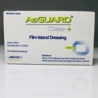 ASGUARD CLEAR FILM DRESSING 15CMx20CM, BOX 25
