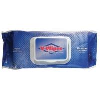 V-Wipes - Hospital Grade Disinfectant Wipes, Pk 50