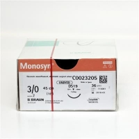 Monosyn Quick Undyed 3/0 19mm DS 45cm, Box36