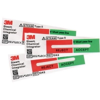 3M COMPLY STERIGAGE STEAM CHEMICAL INTEGRATORS BOX 100