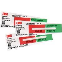 3M COMPLY STERIGAGE STEAM CHEMICAL INTEGRATORS BOX 100