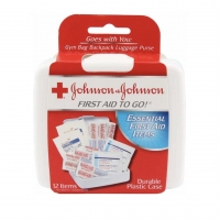 First Aid Mini Kit (Johnson & Johnson), 12 piece