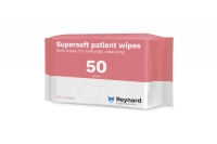 REYNARD SUPER SOFT PATIENT WIPES, CTN 18