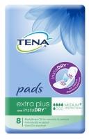 TENA Pads Extra Plus with InstaDRY, Pkt 8