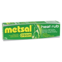 METSAL HEAT RUB CREAM , EACH